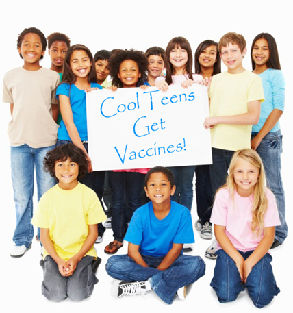 Vaccines are your best shot at good health!